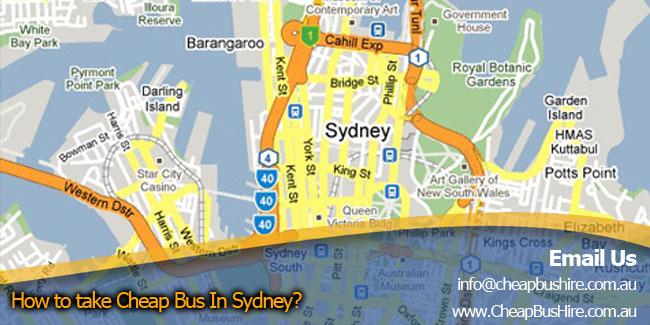 Travel SYDNEY navigation map