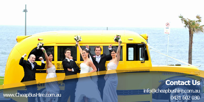 Sydney Wedding Bus Hire Service