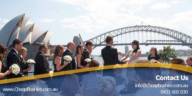 Sydney Wedding Bus Hire