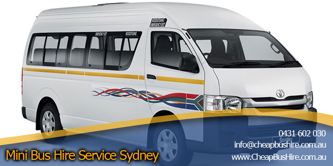 Mini Bus Hire Service Sydney